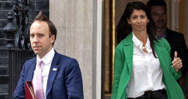 Son dakika: Yasak aşk skandalı sonrası İngiltere Sağlık Bakanı Matt Hancock, istifa etti