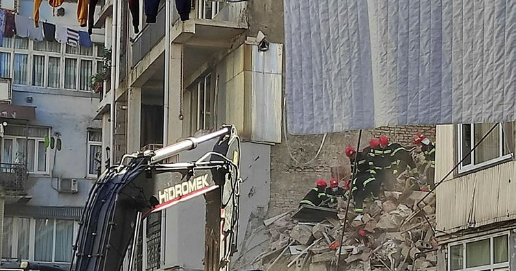 Gürcistan'da facia! 7 katlı bina çöktü
