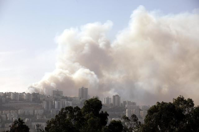 İsrail'de yangın kontrol altına alınamıyor...