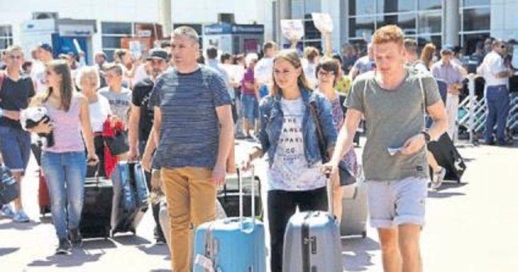 Turizmdeki artış yüzde 63