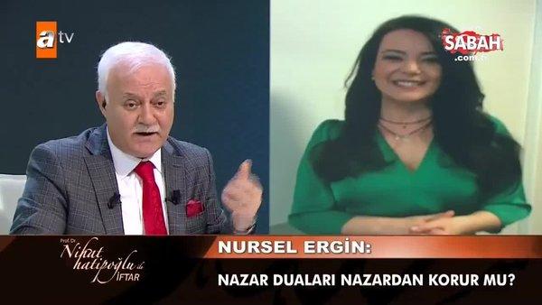 Nursel Ergin'den Nihat Hatipoğlu'na