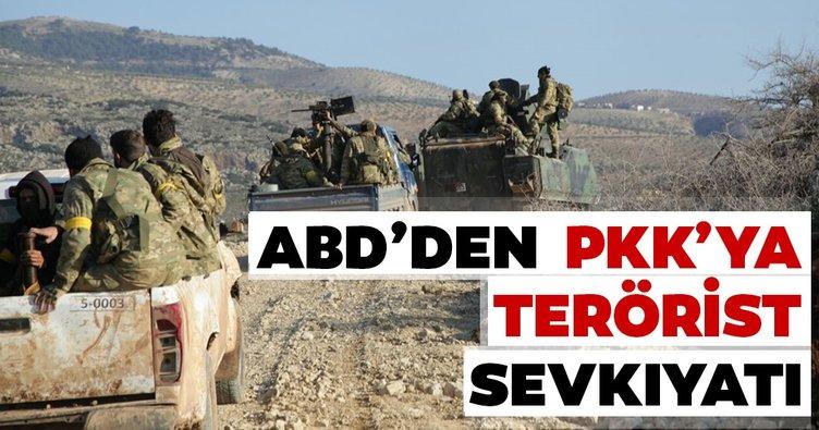ABD'den PKK'ya terörist sevkıyatı