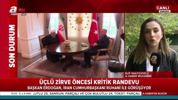 İran Cumhurbaşkanı Ankara'da! Kritik görüşme başladı