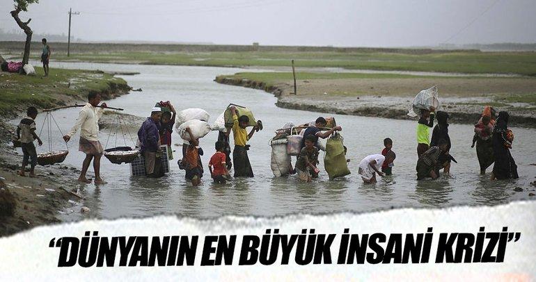 BM: Dünyanın en büyük insani krizi Arakan'da