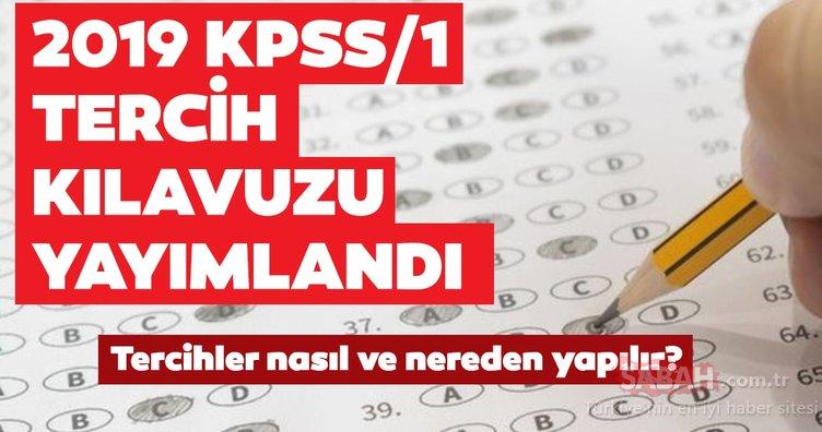 KPSS tercih kılavuzu ÖSYM tarafından yayınlandı! 2019/1 KPSS tercihleri nasıl yapılır ve ne zaman bitiyor?