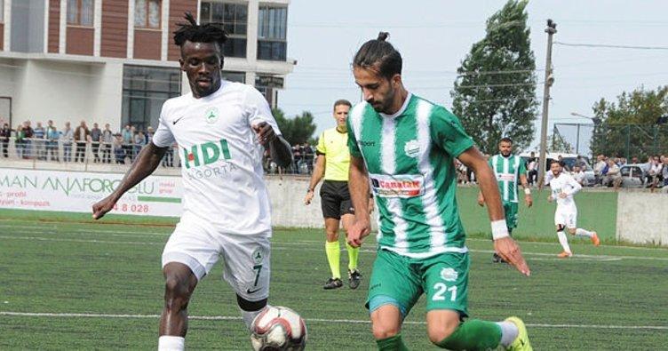 Maç Sonucu   Görelespor 4-1 Giresunspor