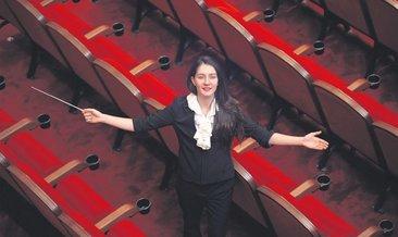 Türkiye'nin üçüncü kadın orkestra şefi oldu