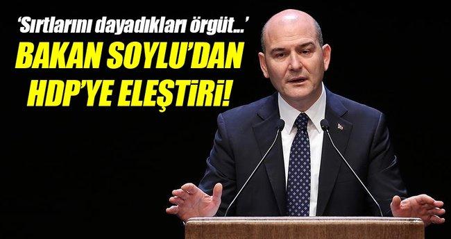 İçişleri Bakanı Soylu'dan HDP'nin siyasetine eleştiri!