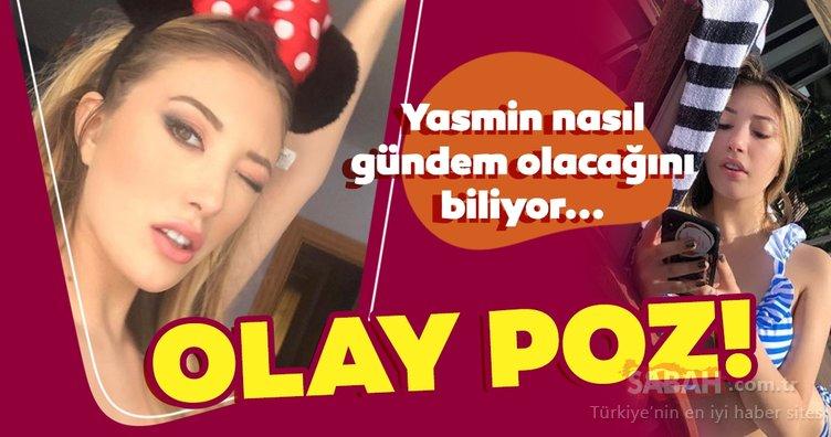 Mehmet Ali Erbil'in kızı Yasmin Erbil yine gündemde! Yasmin Erbil bu sefer dantelli çamaşırlarıyla poz verdi!