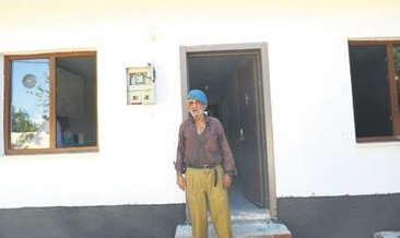 Kıbrıs gazisinin yeni ev heyecanı
