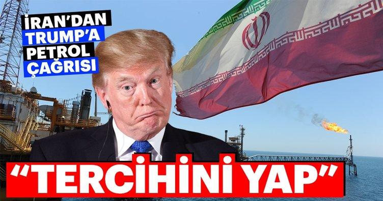 İran'dan Trump'a Tercihini yap çağrısı geldi