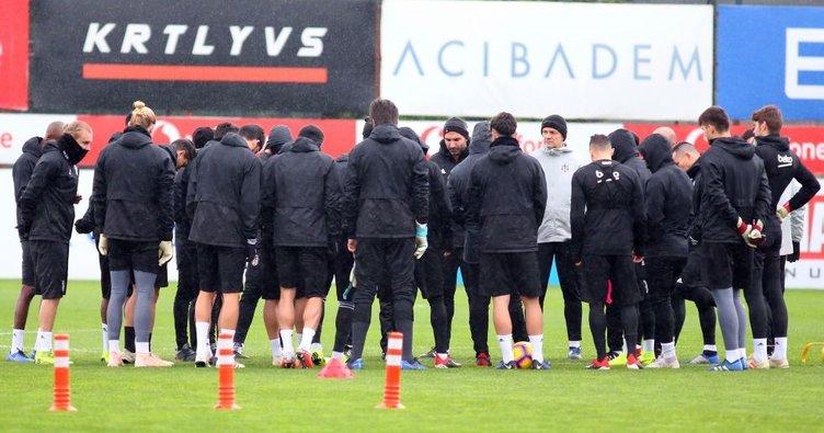 Beşiktaş Alanya'ya 5 eksikle gitti