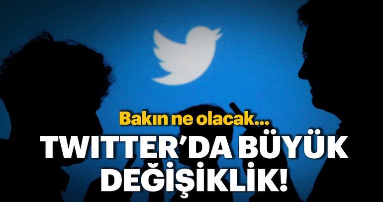 Twitter'da büyük değişiklik! Twitter yeni güncellemesini duyurdu