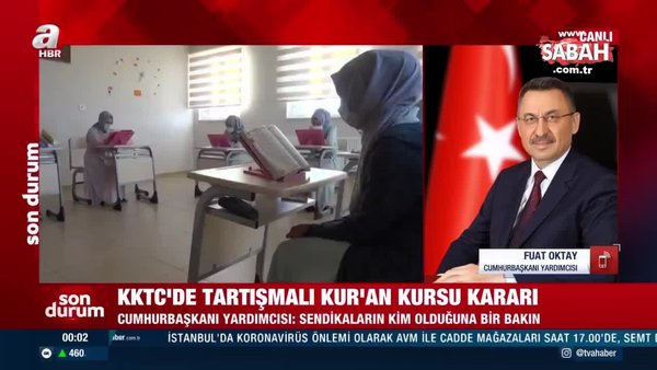 Son dakika: Cumhurbaşkanı Yardımcısı Fuat Oktay'dan A Haber'de önemli açıklamalar | Video
