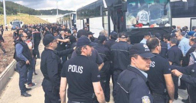 13 sezon sonra 50 otobüsle Bursa'ya