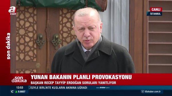 SON DAKİKA: Cumhurbaşkanı Erdoğan'dan Cuma namazı sonrası flaş açıklamalar