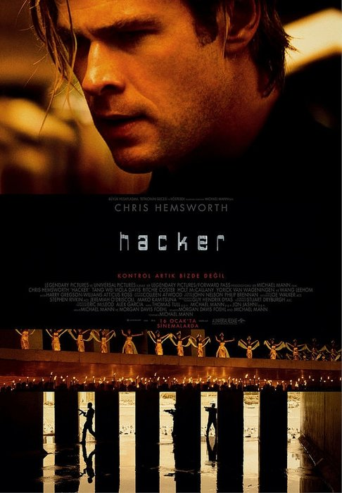 Hacker filminden kareler