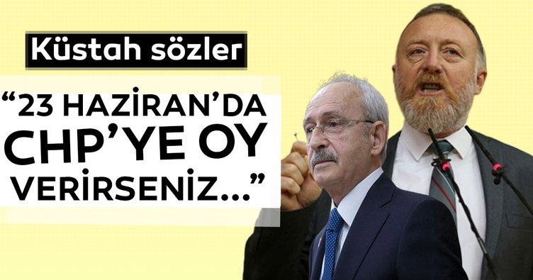 Sezai Temelli'den küstah sözler: 23 Haziran'da CHP'ye oy verirseniz....