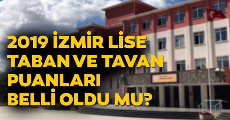 İzmir lise taban puanları 2019 listesi belli oldu mu? MEB ile İzmir Fen Lisesi, Anadolu Lisesi YEP taban puanı ve yüzdelik dilim