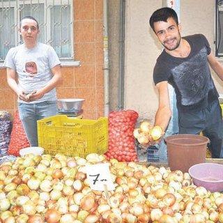 Soğan ve patateste fiyat % 30 inecek