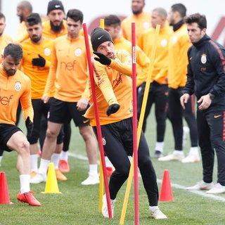 Galatasaray'ın, Erzurumspor maçı kadrosu belli oldu