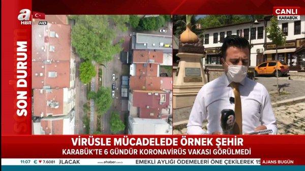 Karabük'te son 6 gündür koronavirüs vakası görülmüyor