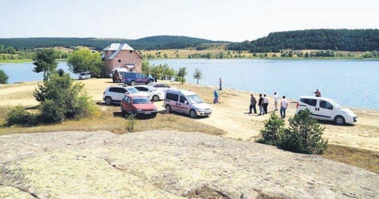 Anne, baba ve oğlu baraj gölünde boğuldu