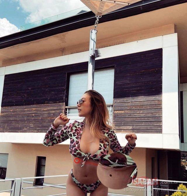 Yasmin Erbil bikinisiyle yaktı geçti! Sosyal medyanın ilgi odağı olmayı yine başardı!