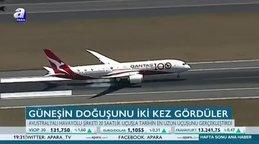 Tarihin en uzun uçuşu gerçekleştirildi