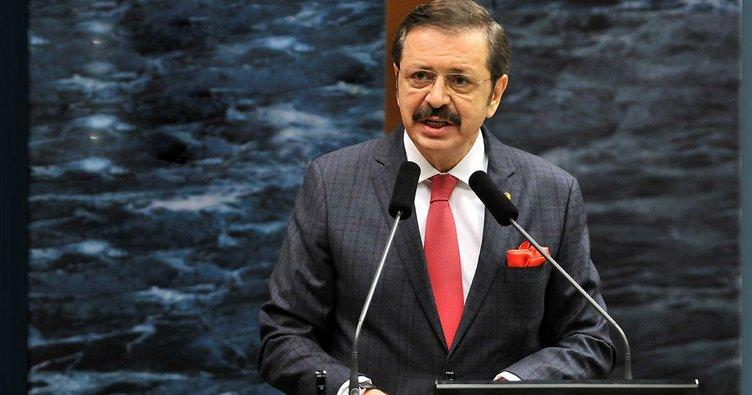 TOBB Başkanı Rıfat Hisarcıklıoğlu'ndan şirketlere çağrı - Ekonomi ...