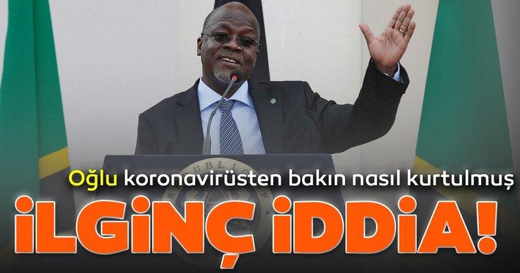 Tanzanya devlet başkanının oğlunun Kovid-19'dan limon ve zencefille kurtulduğu iddia edildi