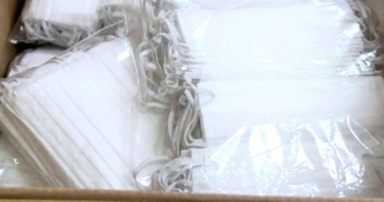 KOM'dan flaş operasyon: Binlerce maske ve dezenfektan...