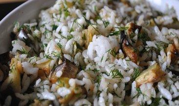 Pilav ve sebzenin güzel uyumu: Patlıcanlı Pilav tarifi