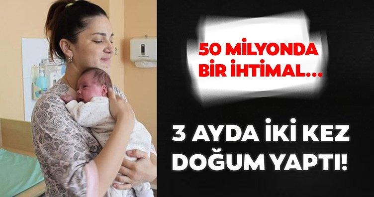 O ülke bu son dakika haberini konuşuyor: 3 ayda 2 kez doğum yaptı! 50 milyonda bir ihtimaldi ama...