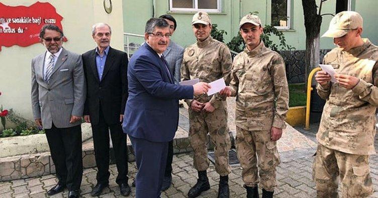 Afyonkarahisar'da ESKKK ve TÜMSİAD'dan Afrin'deki Mehmetçik'e destek