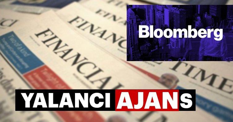 Türkiye'ye ekonomik savaşın medyadaki aktörlüğünü Bloomberg üstlendi!