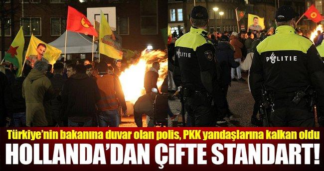 İkiyüzlü Hollanda'dan PKK'ya izin!