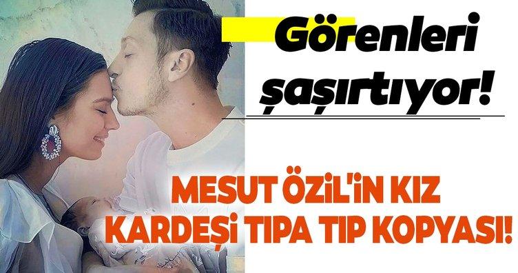 Mesut Özil'in kız kardeşiyle benzerliği görenleri şaşırtıyor