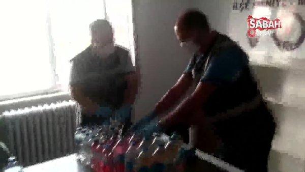 Kütahya'da korona'ya karşı ilaç üretip sattığı ileri sürülen şüpheli yakalandı | Video