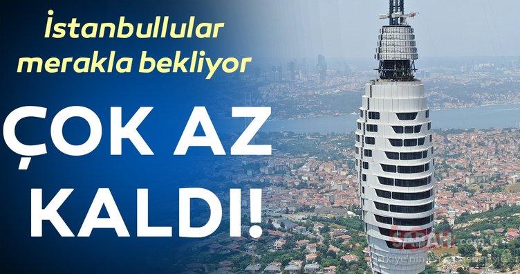 İstanbullular merakla bekliyor! Çok az kaldı...