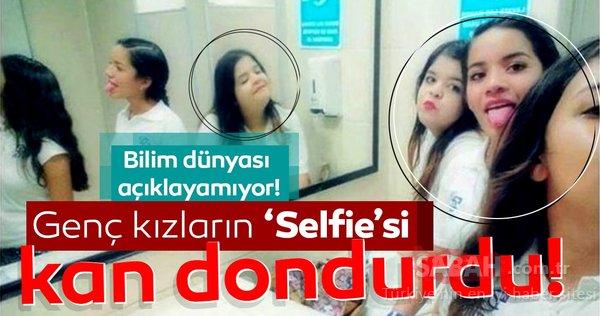 Genç kızların selfie fotoğrafı kan dondurdu! Bilim dünyası açıklayamıyor!