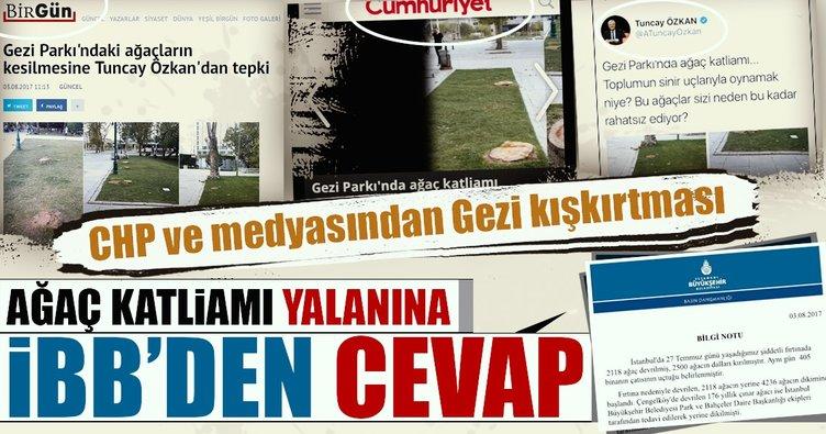CHP'li Tuncay Özkan'dan 'Gezi' kışkırtması
