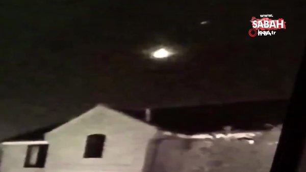 İngiltere'de meteor görüldü   Video