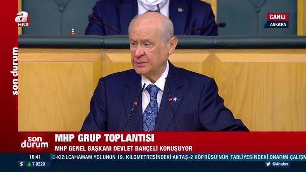 SON DAKİKA: MHP Lideri Bahçeli'den flaş Boğaziçi Üniversitesi açıklaması