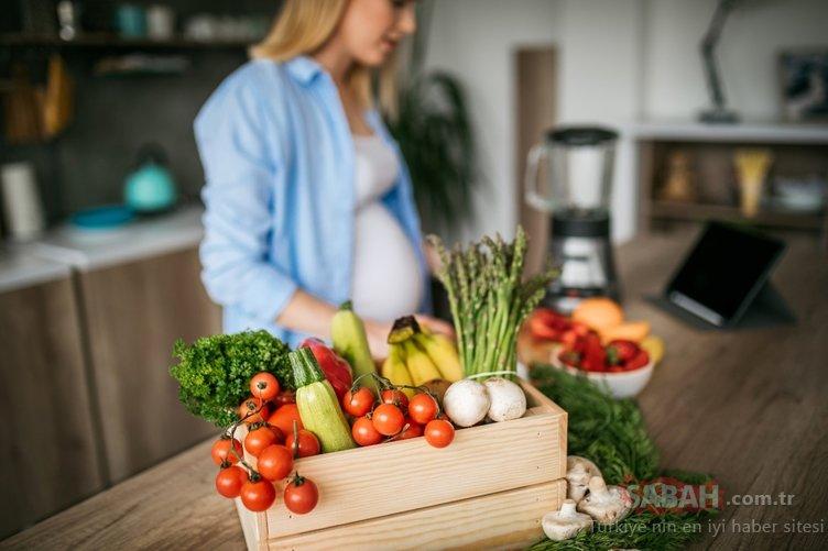 Hamileler için beslenme kılavuzu!