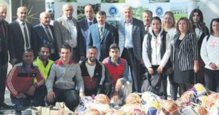 Akyurt Belediyesi'nden spora destek