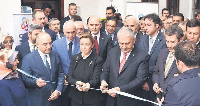 Başbakan Binali Yıldırım Altındağ'da