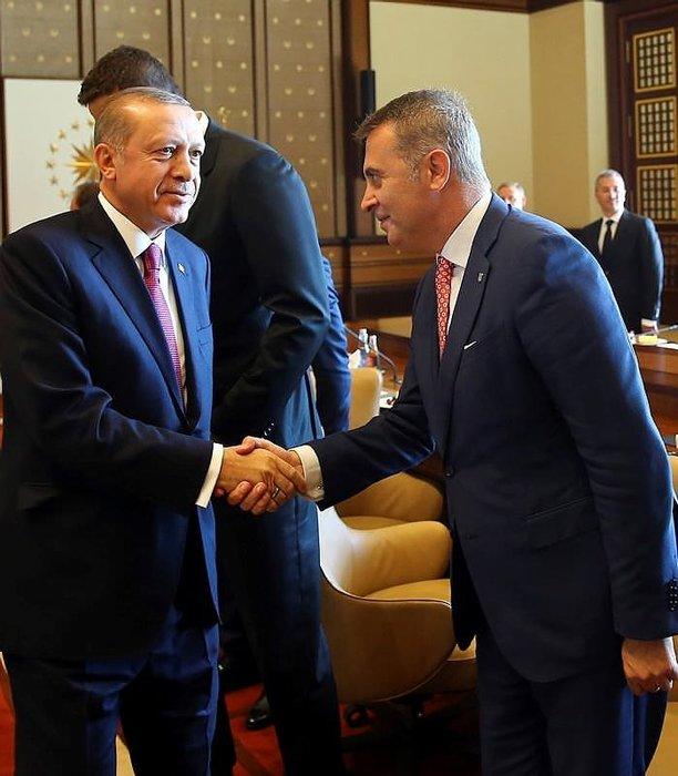 Cumhurbaşkanı Erdoğan, Kulüpler Birliği Heyeti'ni kabul etti