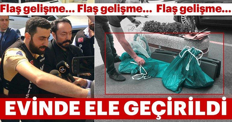 Son dakika haberi: Adnan Oktar'ın evinden çıkan silahlar emniyete getirildi!