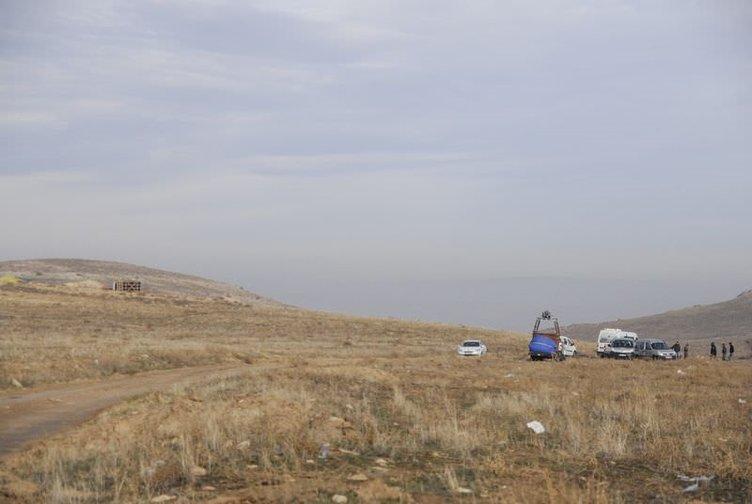 Kapadokya'da balon faciası
